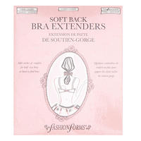 3-Pack Soft Back 4-Hook Bra Extenders