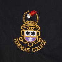 College Crested Jacket Black