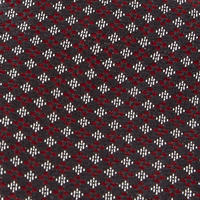 Claret Pattern Silk Tie Wine