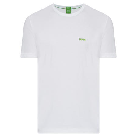 Crew Neck Logo T-Shirt White