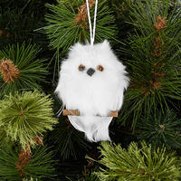 Hanging Owl Tree Decoration 4 Inches