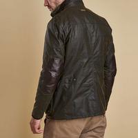 Ogston Waxed Jacket Green