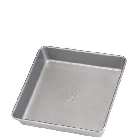 James Martin Cake Tin 23 Cm Square Grey