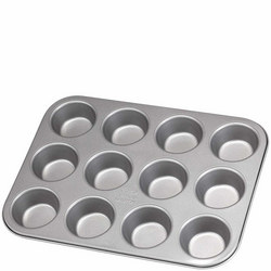 James Martin Muffin Tray 12 Cup Grey