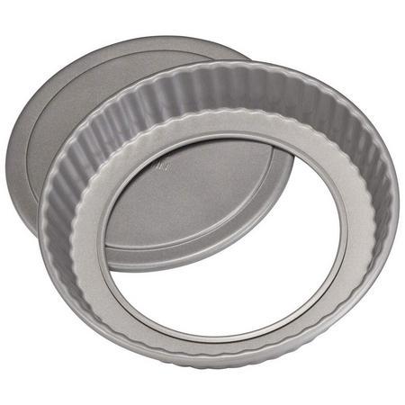 James Martin Flan Tin 20 Cm Grey