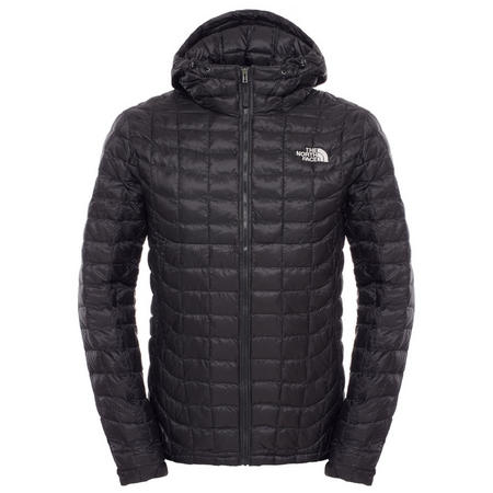 Thermoball Hooded Jacket Black