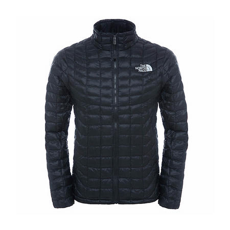 Full Zip Thermoball Jacket Black
