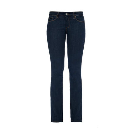 Dark Wash Straight Jeans Navy