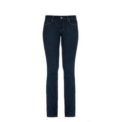 Modern Straight Petite Jeans Dark Blue Wash