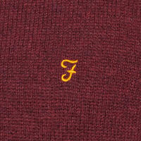 Rosecroft Crew Neck Sweater Red