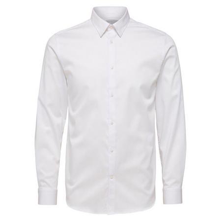Travis Long Sleeve Shirt White
