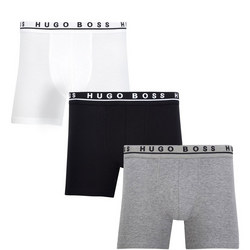Three-Pack Cyclist Trunks Multi