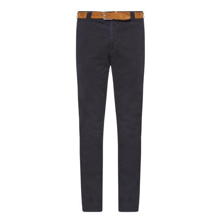 Roma Belted Chinos Navy