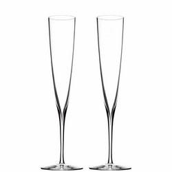 Elegance Champagne Trumpet Flute Set Of 2