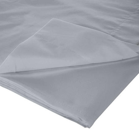 300 Thread Count Flat Sheet Silver