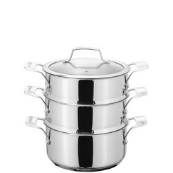 Stainless Steel 3 Tier Steamer 20 cm