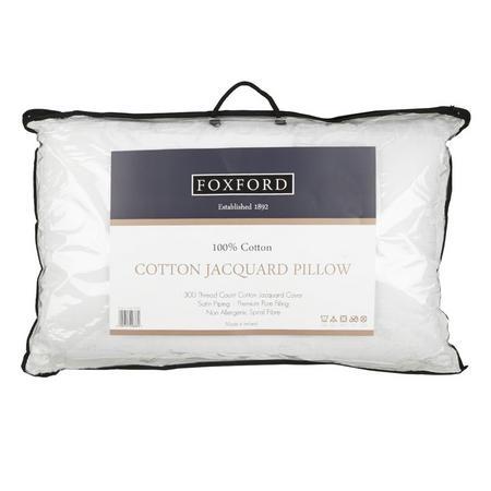 Cotton Jacquard Pillow