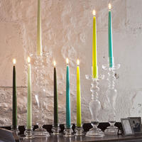 Tapered Candle Taupe