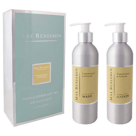 Lemongrass & Ginger Wash & Lotion Gift Set