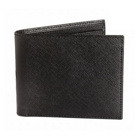 Saffiano Leather Wallet Black