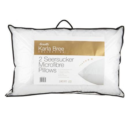 Seersucker Pillow Pair