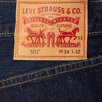 501 Straight Leg Jeans Dark Blue