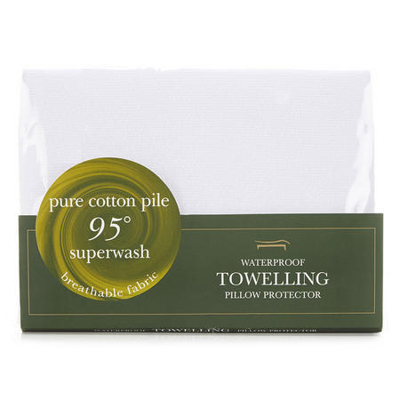 Terry Waterproof Pillow Protector