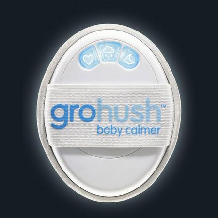 Gro Hush Baby Calmer White