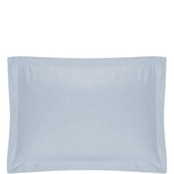 200 Thread Count Egyptian Cotton Oxford Pillowcase Light Blue