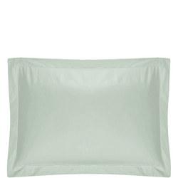 200 Thread Count Egyptian Cotton Oxford Pillowcase Lite Green