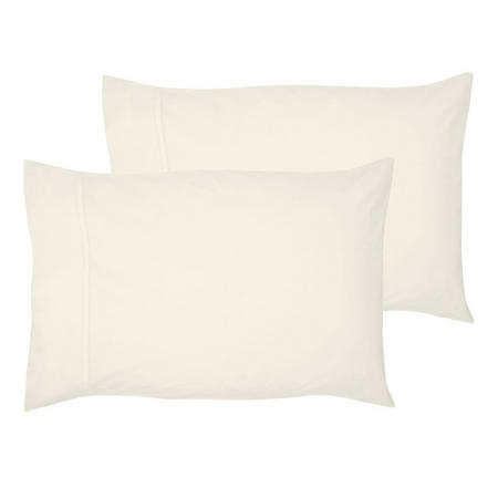 200 Thread Count Egyptian Cotton Housewife Pillowcase Ivory