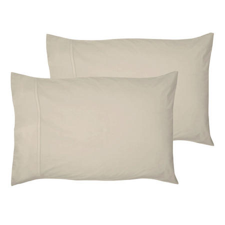 200 Thread Count Egyptian Cotton Housewife Pillowcase Light Grey