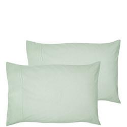 200 Thread Count Egyptian Cotton Housewife Pillowcase Lite Green