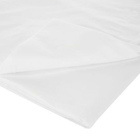 450 Thread Count Pima Cotton Flat Sheet White