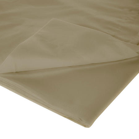 200 Thread Count Egyptian Cotton Flat Sheet Brown