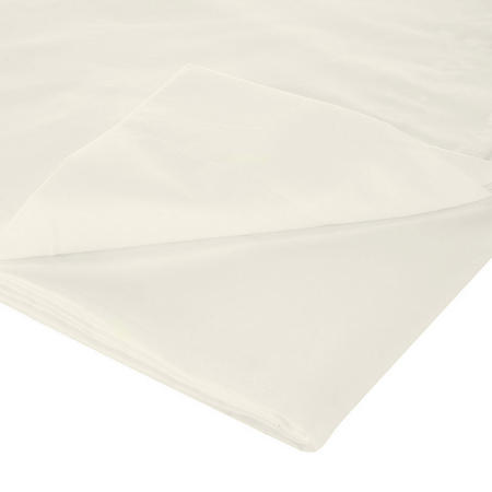 200 Thread Count Egyptian Cotton Flat Sheet Ivory