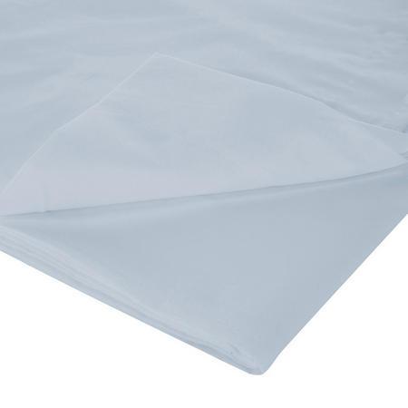 200 Thread Count Egyptian Cotton Flat Sheet Light Blue