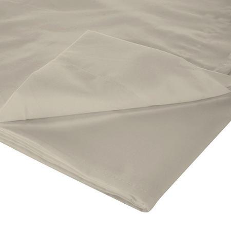 200 Thread Count Egyptian Cotton Flat Sheet Light Grey
