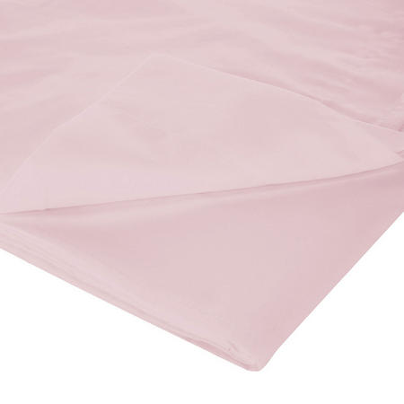 200 Thread Count Egyptian Cotton Flat Sheet Pink