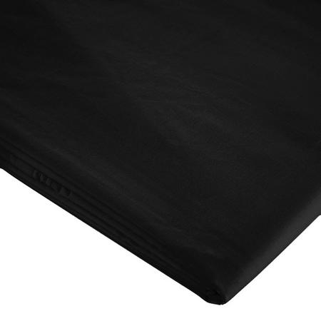 200 Thread Count Egyptian Fitted Sheet Black