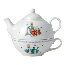 Peter Rabbit Nurseryware Tea for One