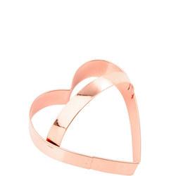 Copper Cookie Cutter Heart