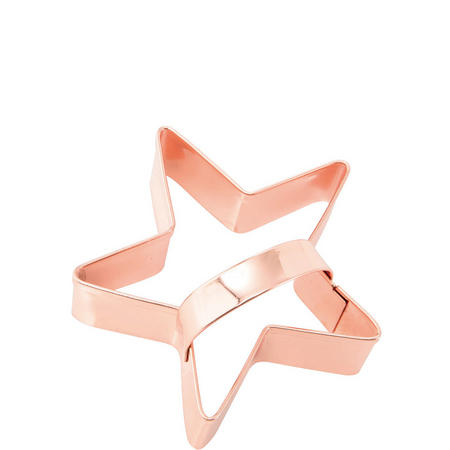 Copper Cookie Cutter Star