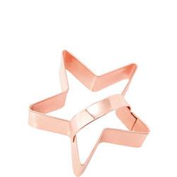 Copper Cookie Cutter Star