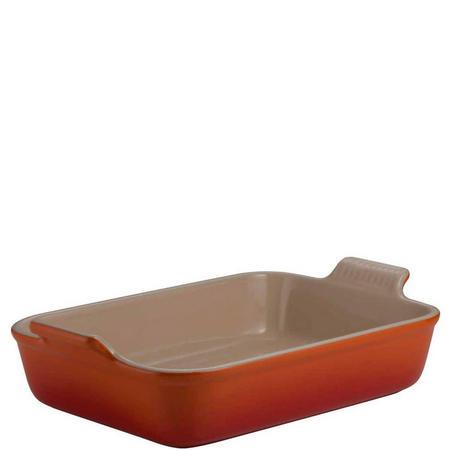 Rectangular Deep Dish 32cm