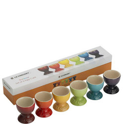 Rainbow Egg Cups Multi