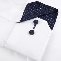 Plain Trim Shirt White