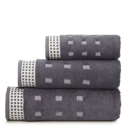 Country Towel Charcoal