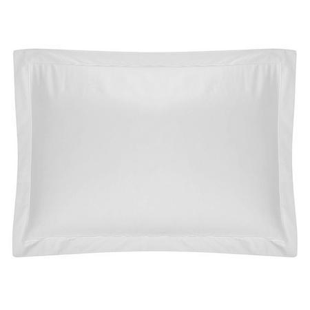 400 Thread Count Egyptian Cotton Oxford Pillowcase White