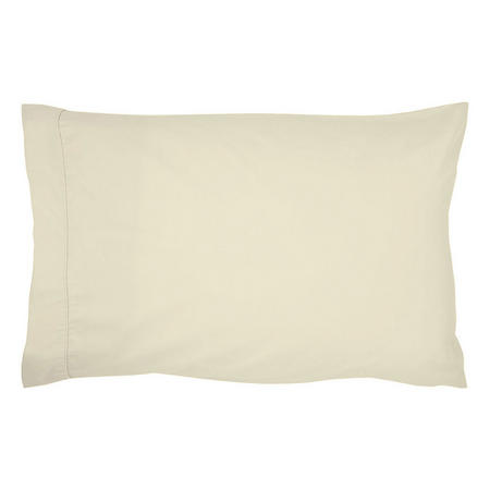 400 Thread Count Egyptian Cotton Housewife Pillowcase Ivory